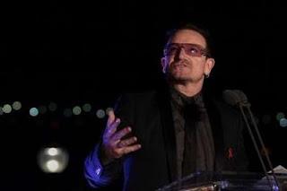 Bono en el dia mundial del sida 2010 2