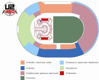 Venta entradas Chile U2 360 Tour para el publico en general