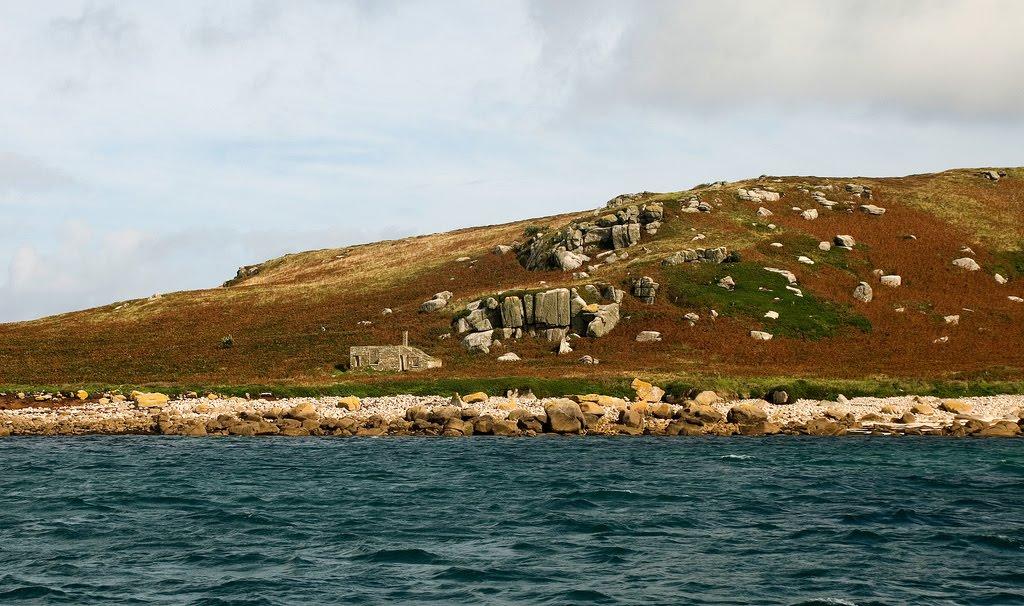 Pest House Ruins St  Helens Plague Quarantine Station (Isles