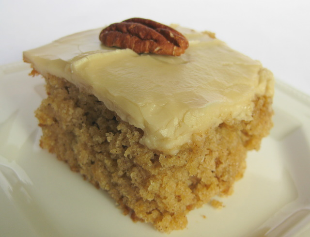 Recipe For Oatmeal Cake With Caramel Icing