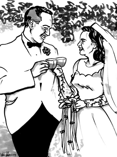Rousel's blog: A golden wedding service will be held at