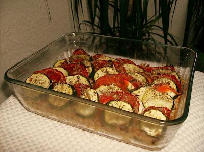 amapbdm recette tian de courgettes et de tomates. Black Bedroom Furniture Sets. Home Design Ideas