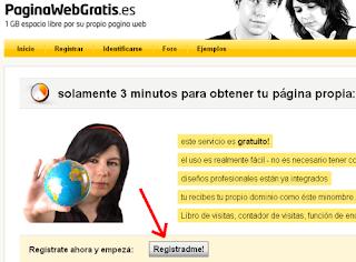 [PWG, tema unico] Cómo empezar a crear tu web Registradme
