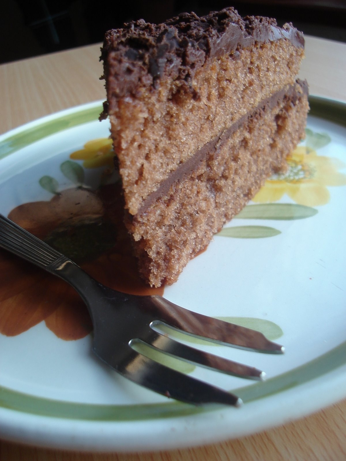 Sponge Cake Huile