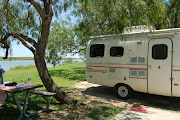 Camping at Arroyo City, Texas