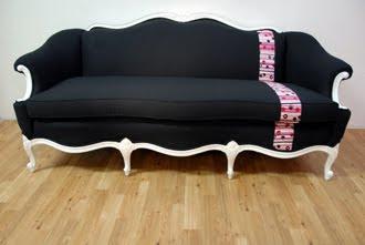 Metrosofa divano barocco tappezzeria moderna - Divani in stile barocco ...