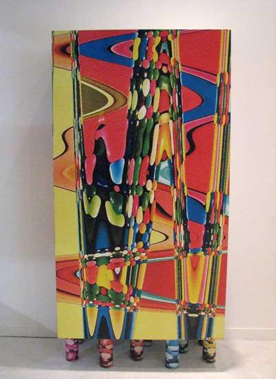 mobili colorati dima design