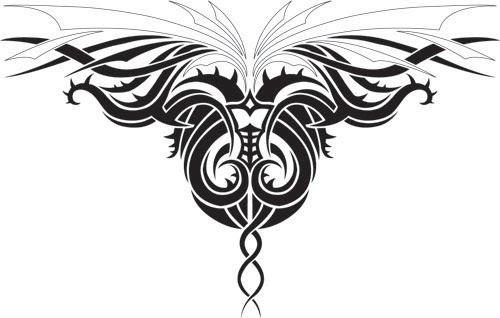 dedendz  tribal dragon