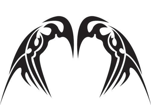 dedendz  tribal wings
