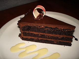 Chocolate Canadian Club Cake (Whiskey Cake) Le Cellier 2