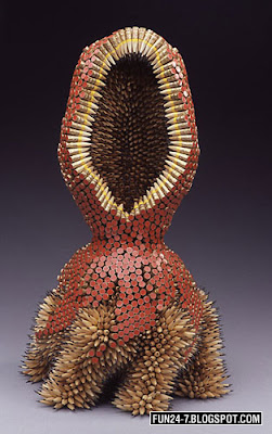 Pencil Sculpture