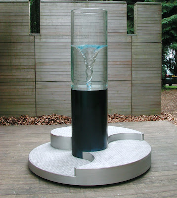 Water Vortex Sculpture