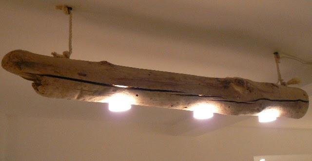 doudoustyle cr ations luminaire en bois flott. Black Bedroom Furniture Sets. Home Design Ideas