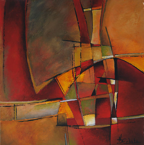 No Day Without Art by Nancy Eckels: Luminous - abstract ...