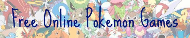 Free Online Pokemon Games