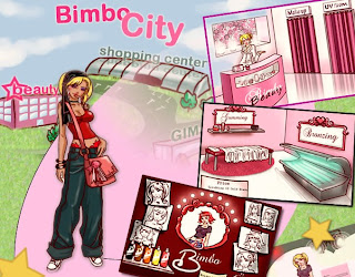 Miss Bimbo free virtual fashion online game