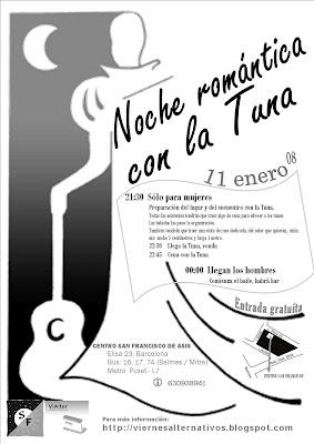 Viernes Alternativos Noche Románatica Con La Tuna
