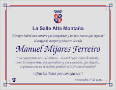 Placa en honor a Manuel