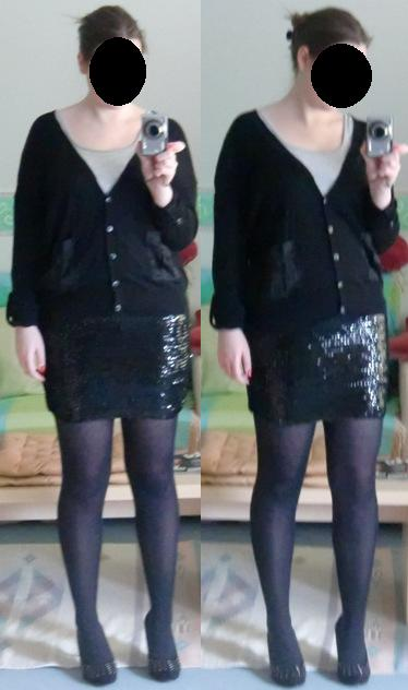 KÄTHCHENS KOSMOS: Silvester Outfit