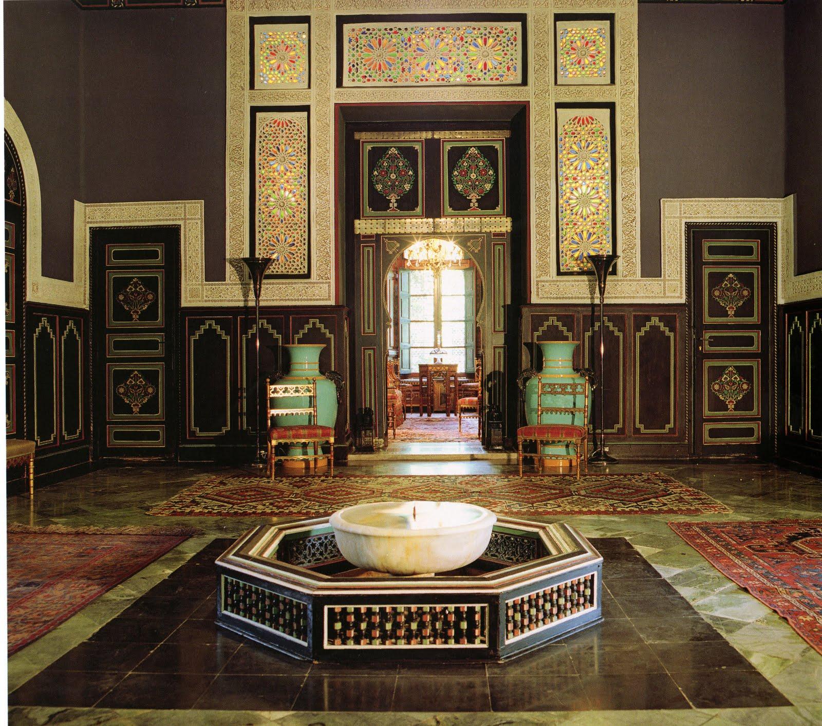 cityzenart: Yves Saint Laurent Marrakech Interior