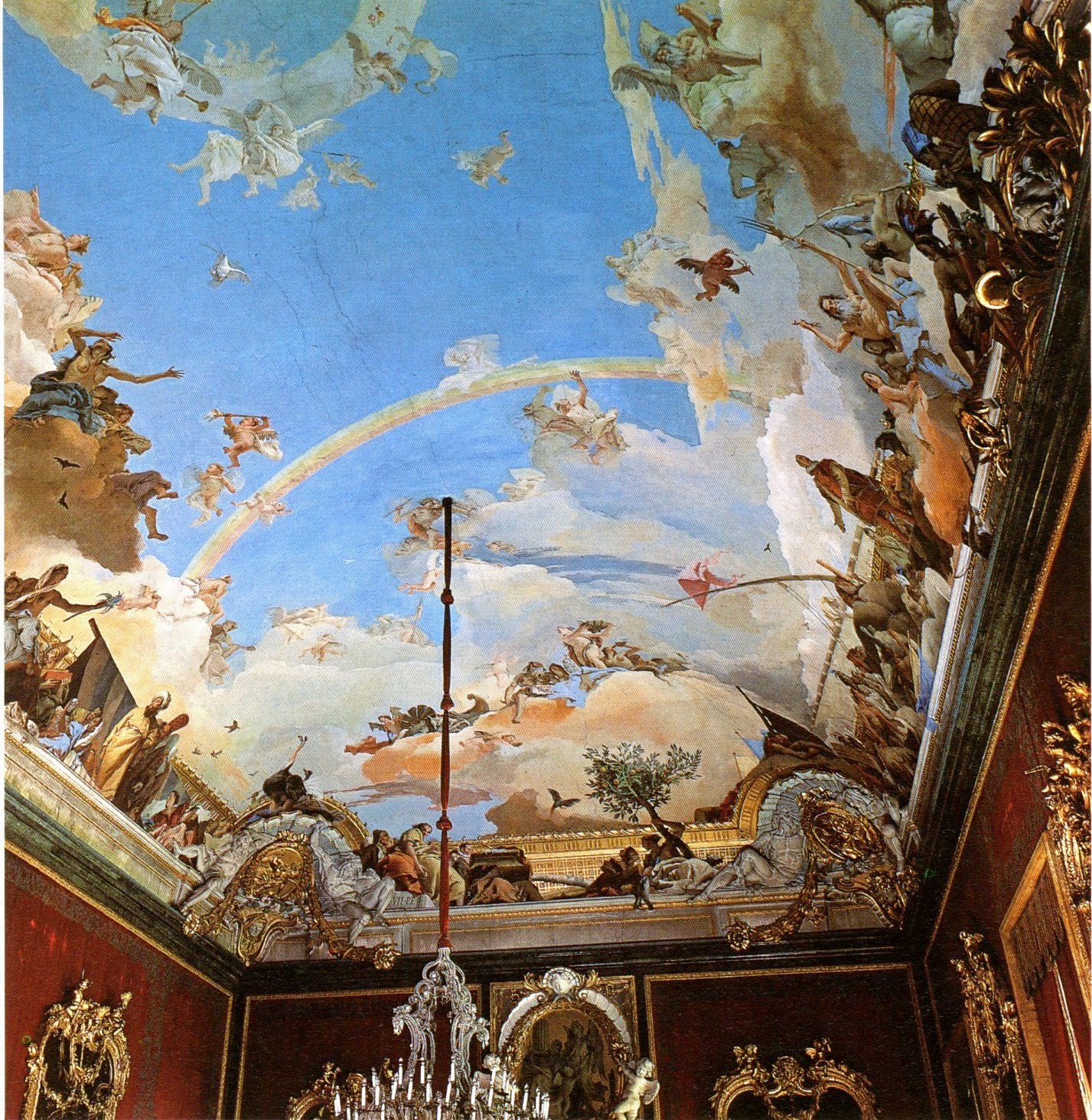 cityzenart: Tiepolo ceiling paintings