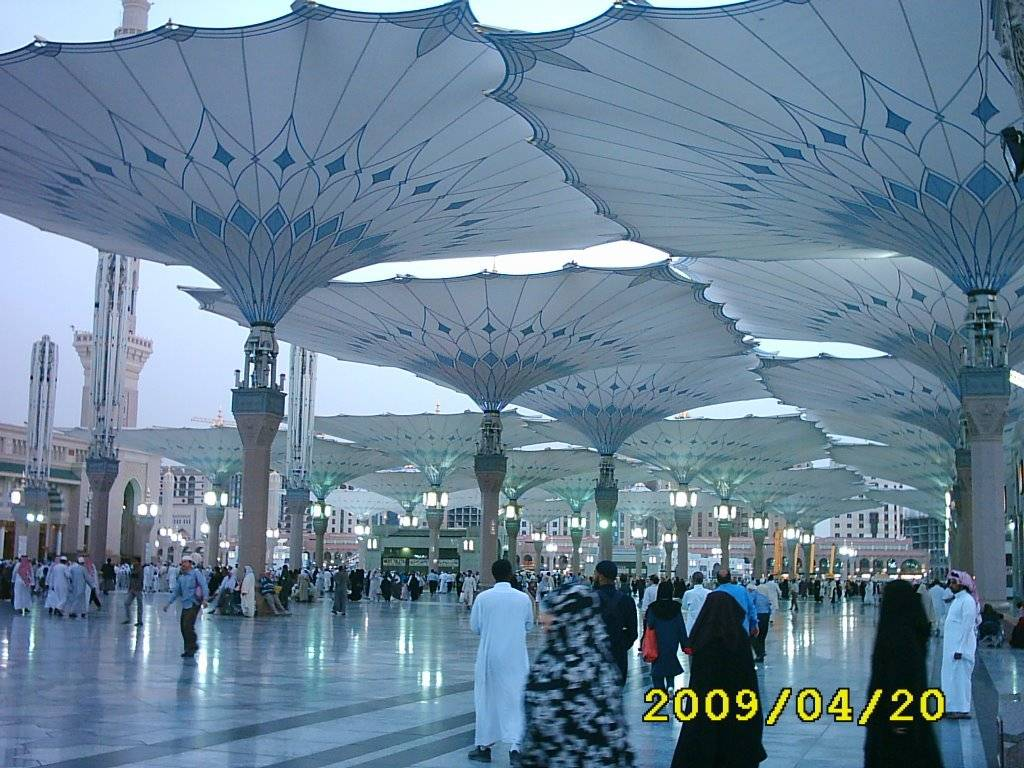 Islamic Wallpaper Hd Download Full Madina Pic Umbrella Of Masjid E Nabvi Pbuh