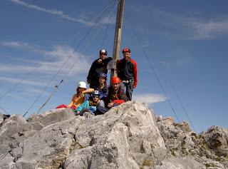 Klettersteig Rigidalstock : Famwilli walenpfad brunnihütte rigidalstock