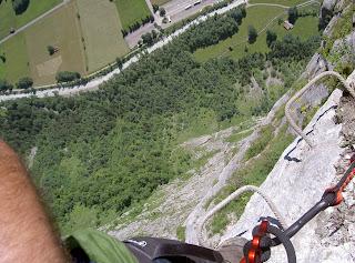 Klettersteig Mürren : Famwilli klettersteig mürren