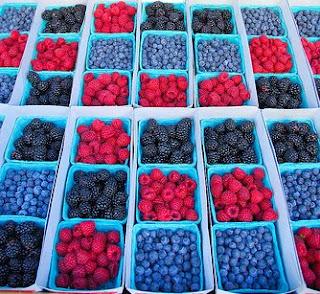 Joy of Desserts: Blueberry Cream Cheese Fool