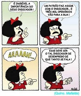 Mafalda e o desemprego