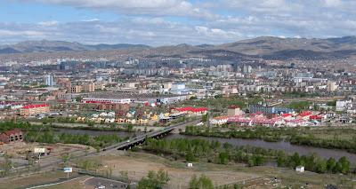 the city of ulaan baatar