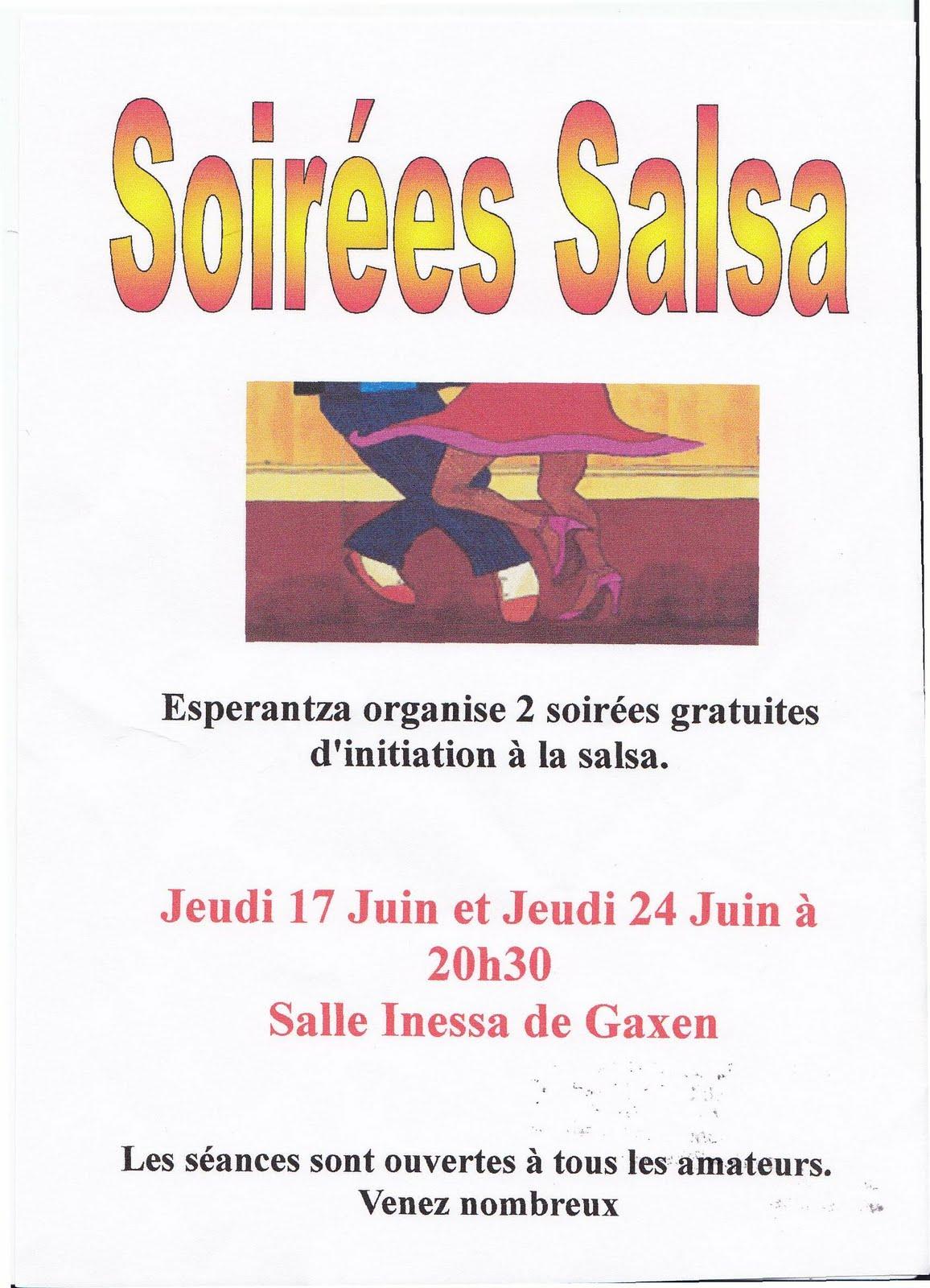 Office de tourisme du pays de hasparren et de la bastide clairence soir es salsa esperantza - Office de tourisme hasparren ...