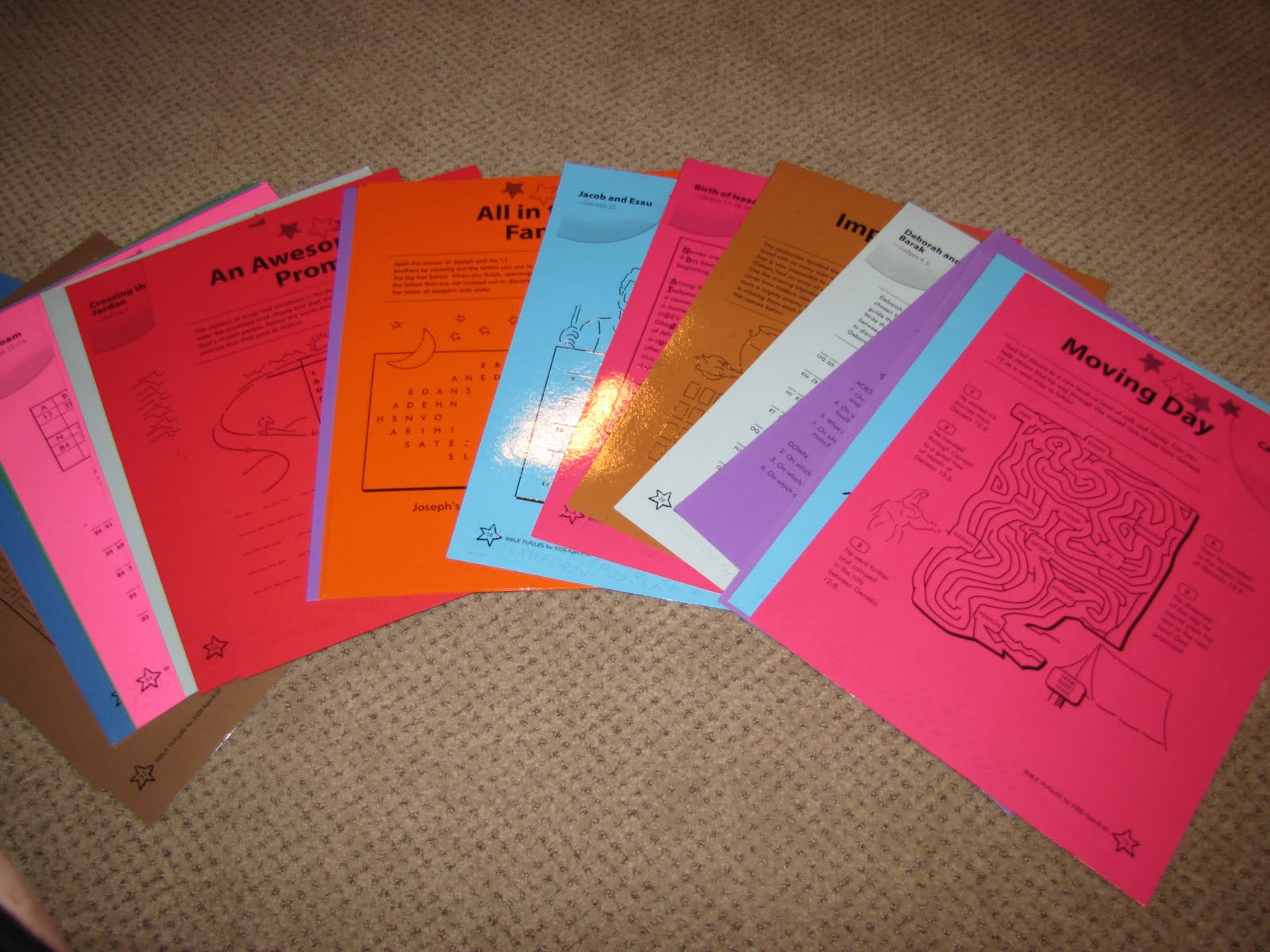 Bible Adventures Worksheets With A Twist