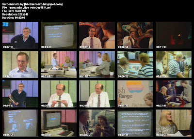BBC Microlive November 1984 Complete Episode One