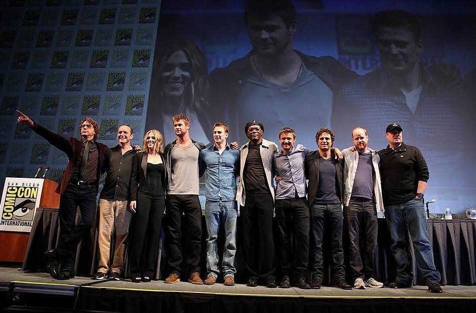 Avengers-Filmreihe Besetzung