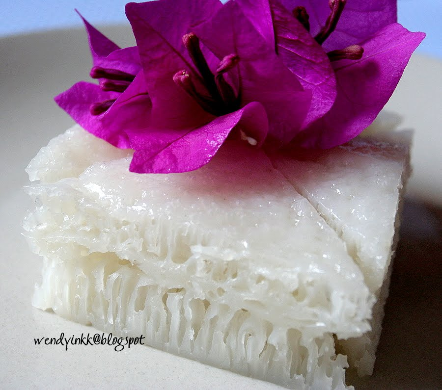 White sugar rice cake recipe