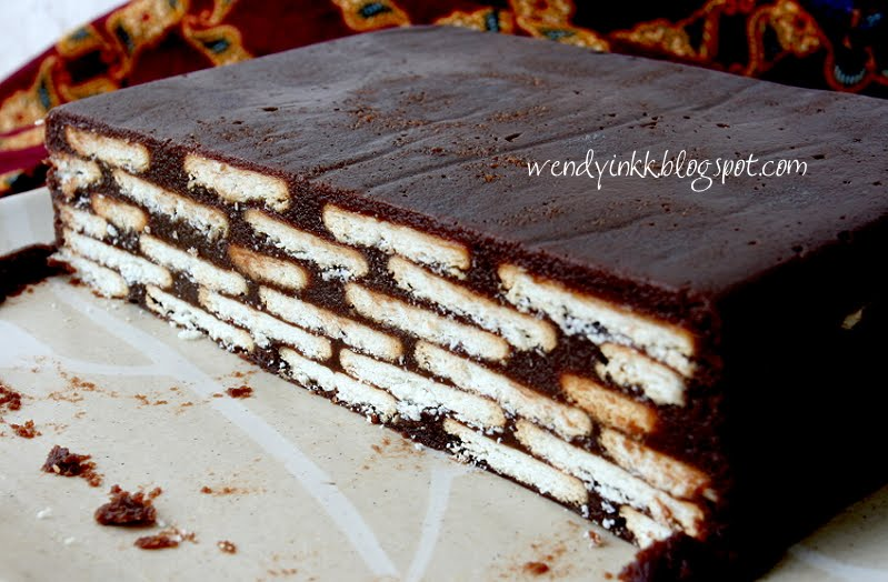 table for 2 or more batik cake or hedgehog slice