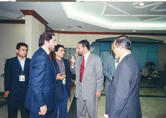 DR. ABDULLAH, AMBASSADOR SATAR MURAD, NABI HABIBI, PROF.KAMAL HASSAN