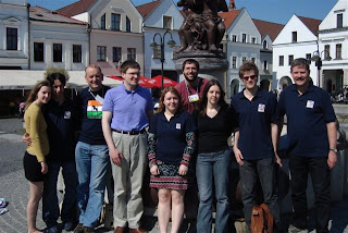 Team Photograph @ 4th World Sudoku Championship 2009 Zilina Slovakia