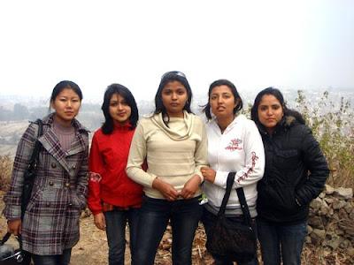 Spectrum Girls:kanchan,Indira,Ruchee,Garima n Sarita