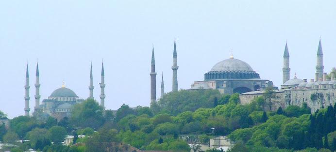 Blue Mosque & St Sophia