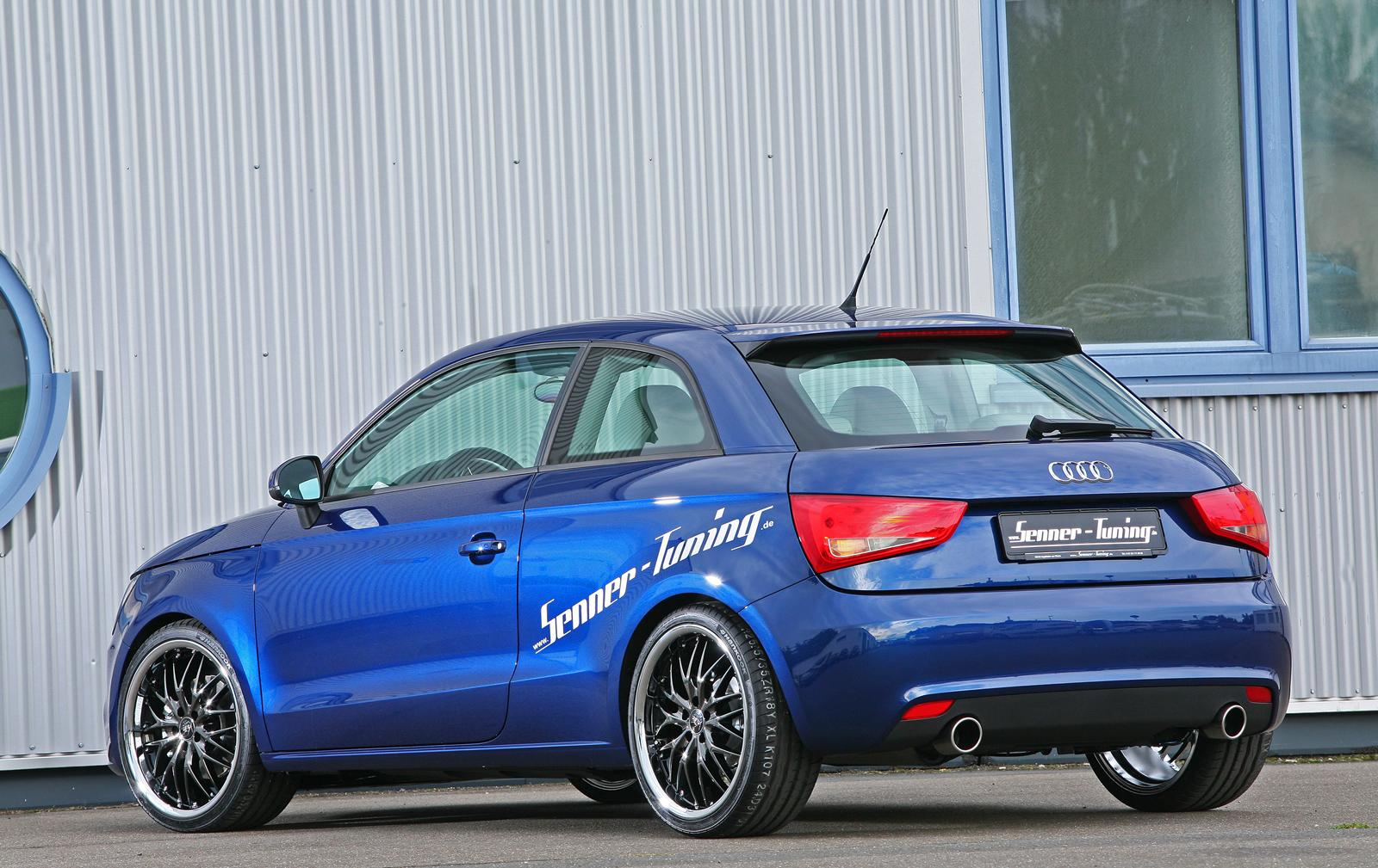 Carbon Fiber Wheels >> Senner Tuning introduces Audi A1 tuning program | quattroholic.com