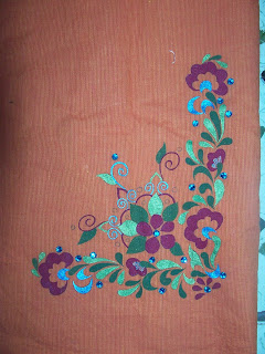 """AAKRITEE"" Innovative Always: Fabric Painting Kurtis For ..."