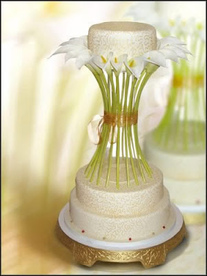 Calla lily theme wedding