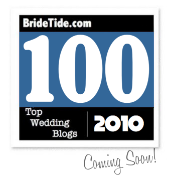 top 100 wedding blogs of 2010