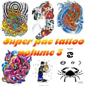 asasas Download Super Pac com mais de 10.000 tattoos vol.5