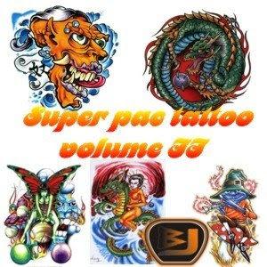 novo 1 Download Super Pac com mais de 10.000 tattoos vol.2