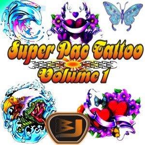 Tattoo+vl1 Download Super pac com mais de 10.000 tattoos vol.1