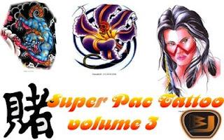 novo 1 Download Super Pac com mais de 10.000 tattoos vol.3