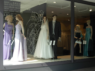 The Trailing Spouse Unusual Bridal Mannequin